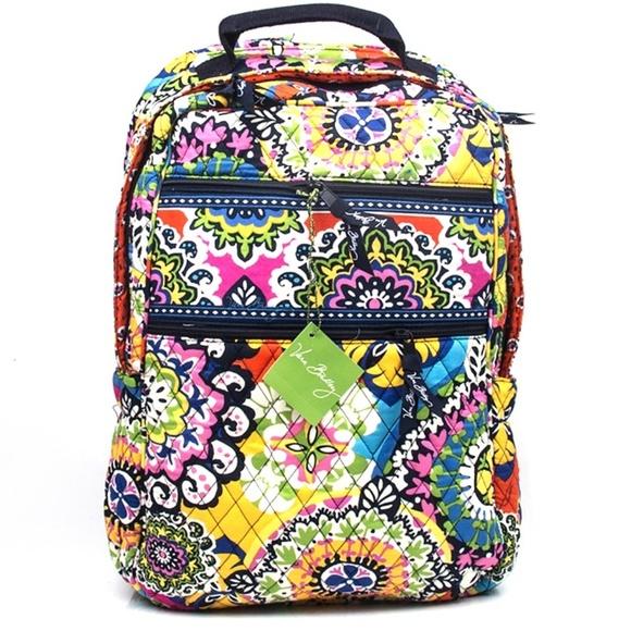 b678429e66 NWT Vera Bradley School Tech Backpack in Rio